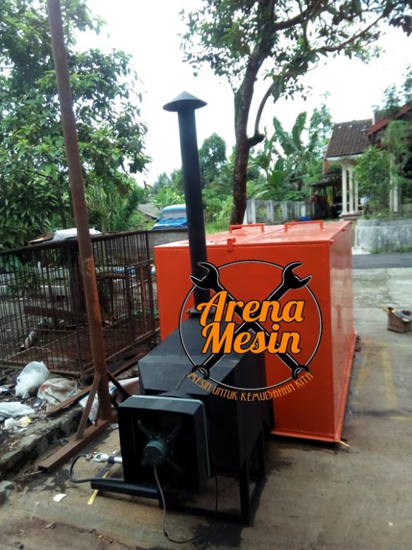 mesin pengering biji kakao