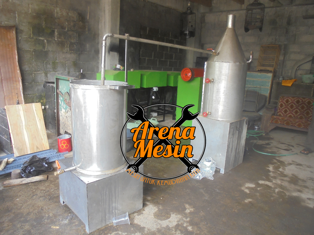 mesin pemasak tahu atau boiler tahu